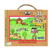 Innovative Kids Green Start On The Farm Floor Puzzle