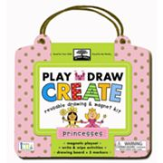 Innovative Kids Green Start Princesses Reusable Drawing and Magnet Kit