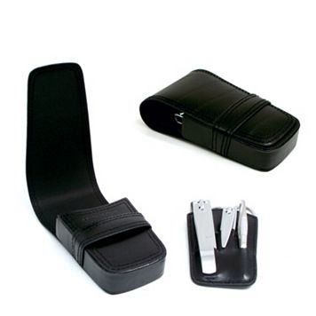6-pc. Leather Grooming Kit