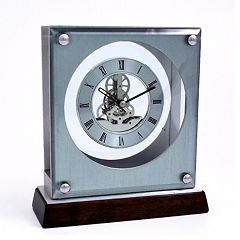 Skeleton Desk Clock