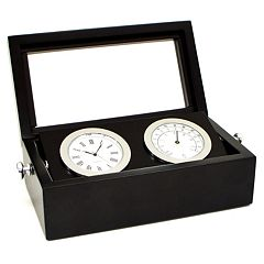 Desk Clock and Thermometer