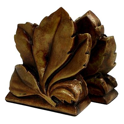 Leaf Book Ends