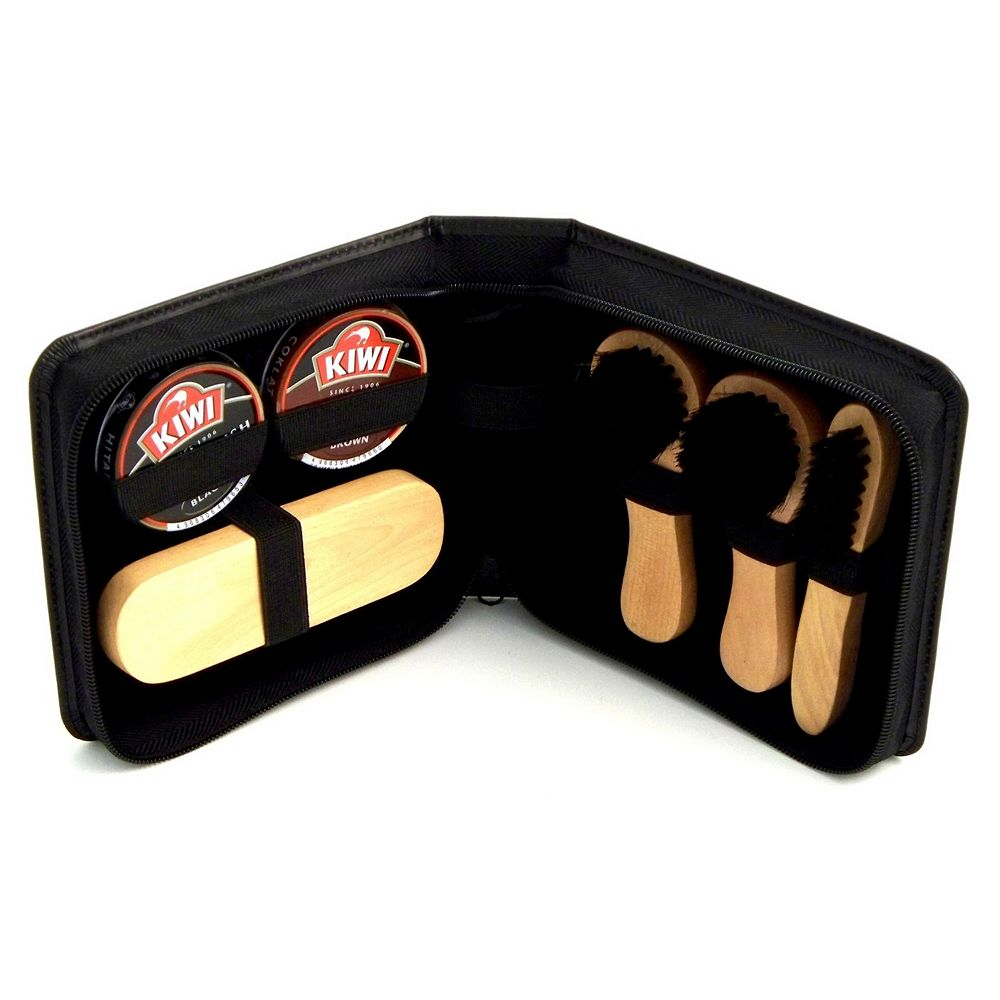 7-pc. Leather Shoe Shine Kit