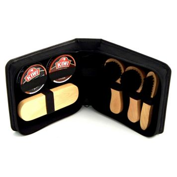 7-pc. Leather Shoe Shine Kit