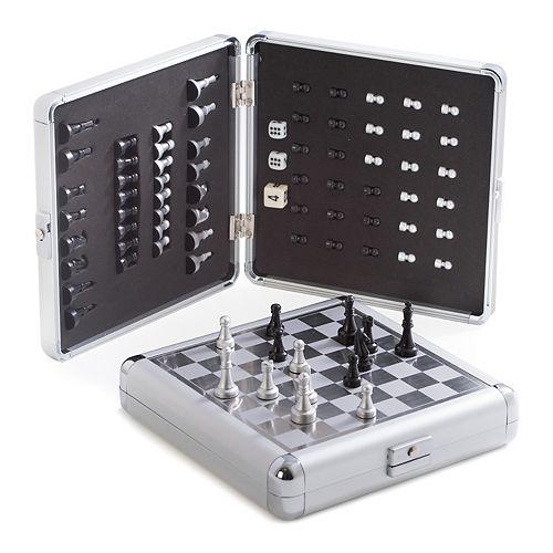 Travel Chess & Backgammon Set