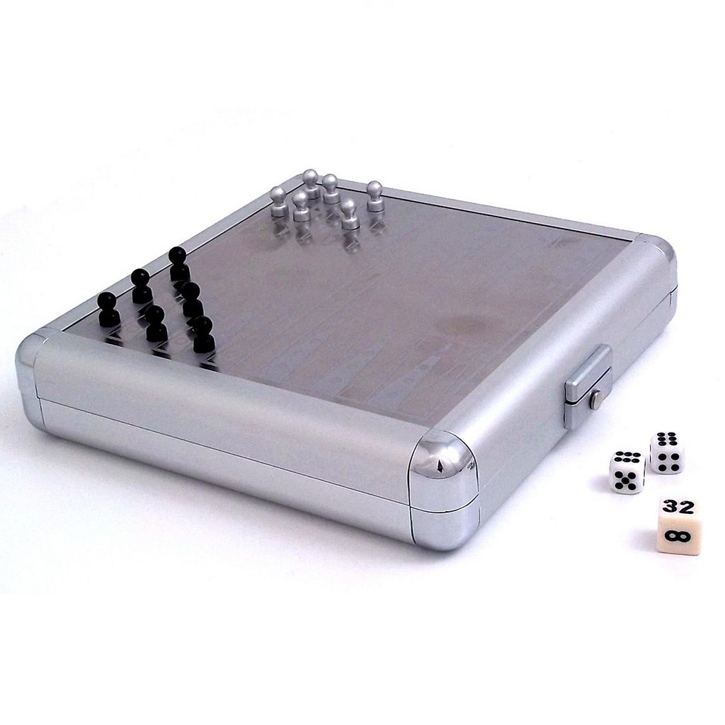 Travel Chess and Backgammon Set