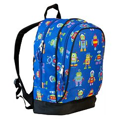 Wildkin Olive Kids Robots Sidekick Backpack - Kids