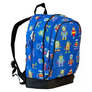 Wildkin Olive Kids Robots Sidekick Backpack - Kids