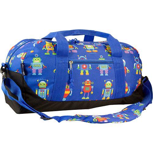 Wildkin Olive Kids Robots Duffel Bag - Kids