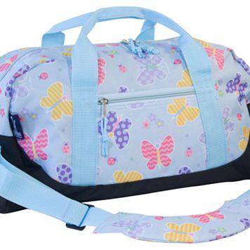 Wildkin Olive Kids Butterfly Garden Duffel Bag - Kids