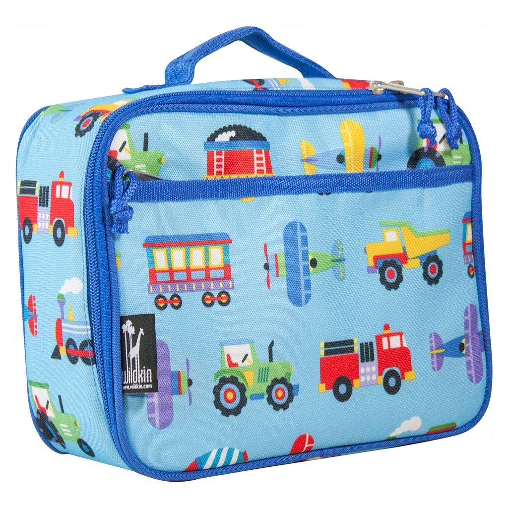 Wildkin Olive Kids Trains, Planes & Trucks Lunch Box