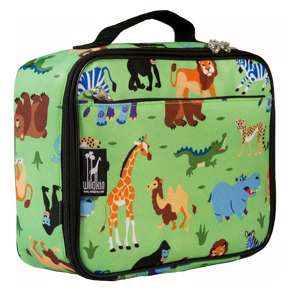 Wildkin Olive Kids Wild Animals Lunch Box