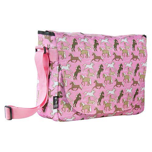 Wildkin Horses Laptop Messenger Bag Kids