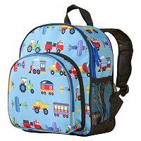 Wildkin Olive Kids Trains, Planes & Trucks Pack 'n Snack Backpack - Kids