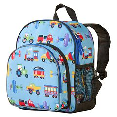 Wildkin Olive Kids Trains, Planes & Trucks Pack 'n Snack Backpack - Kids