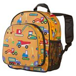 Wildkin Olive Kids Under Construction Pack 'n Snack Backpack - Kids