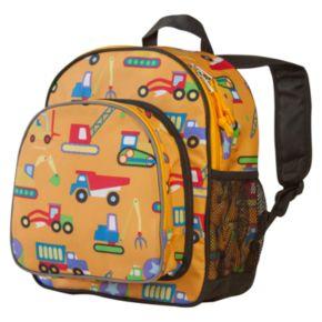 Wildkin Olive Kids Under Construction Pack 'n Snack Backpack - Kids