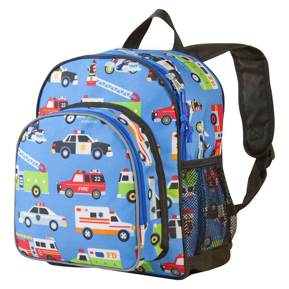 Wildkin Olive Kids Heroes Pack 'n Snack Backpack - Kids