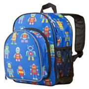 Wildkin Olive Kids Robots Pack 'n Snack Backpack - Kids
