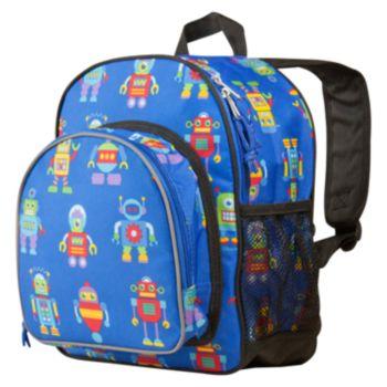 Wildkin Olive Kids Robots Pack 'n Snack Backpack - Kids