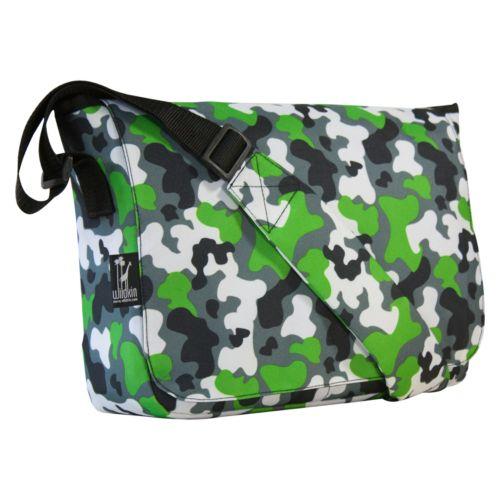 Wildkin Camo Kickstart Messenger Bag - Kids
