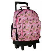 Wildkin Horses High Roller Wheeled Backpack - Kids