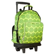 Wildkin Big Dots High Roller Wheeled Backpack - Kids
