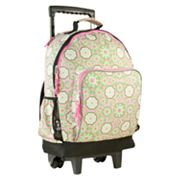 Wildkin Majestic High Roller Wheeled Backpack - Kids