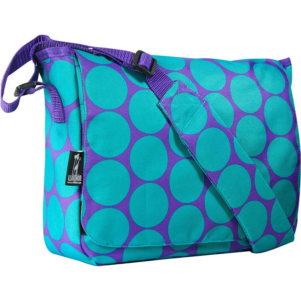Wildkin Big Dots Kickstart Messenger Bag - Kids