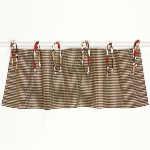 N. Selby by Cotton Tale Houndstooth Window Valance
