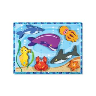 Melissa and Doug Sea Creatures Chunky Puzzle