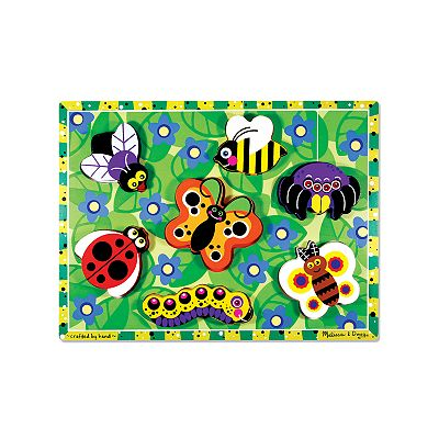 Melissa and Doug Insects Chunky Puzzle