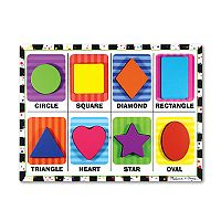 Melissa & Doug Shapes Chunky Puzzle