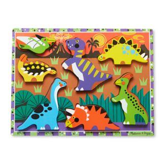 Melissa and Doug Dinosaurs Chunky Puzzle