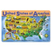 Melissa & Doug USA Wooden Puzzle