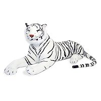 Melissa & Doug White Tiger Plush Toy