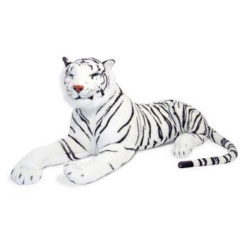 Melissa and Doug White Tiger Plush Toy