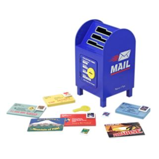 Melissa and Doug Stamp and Sort Mailbox Playset