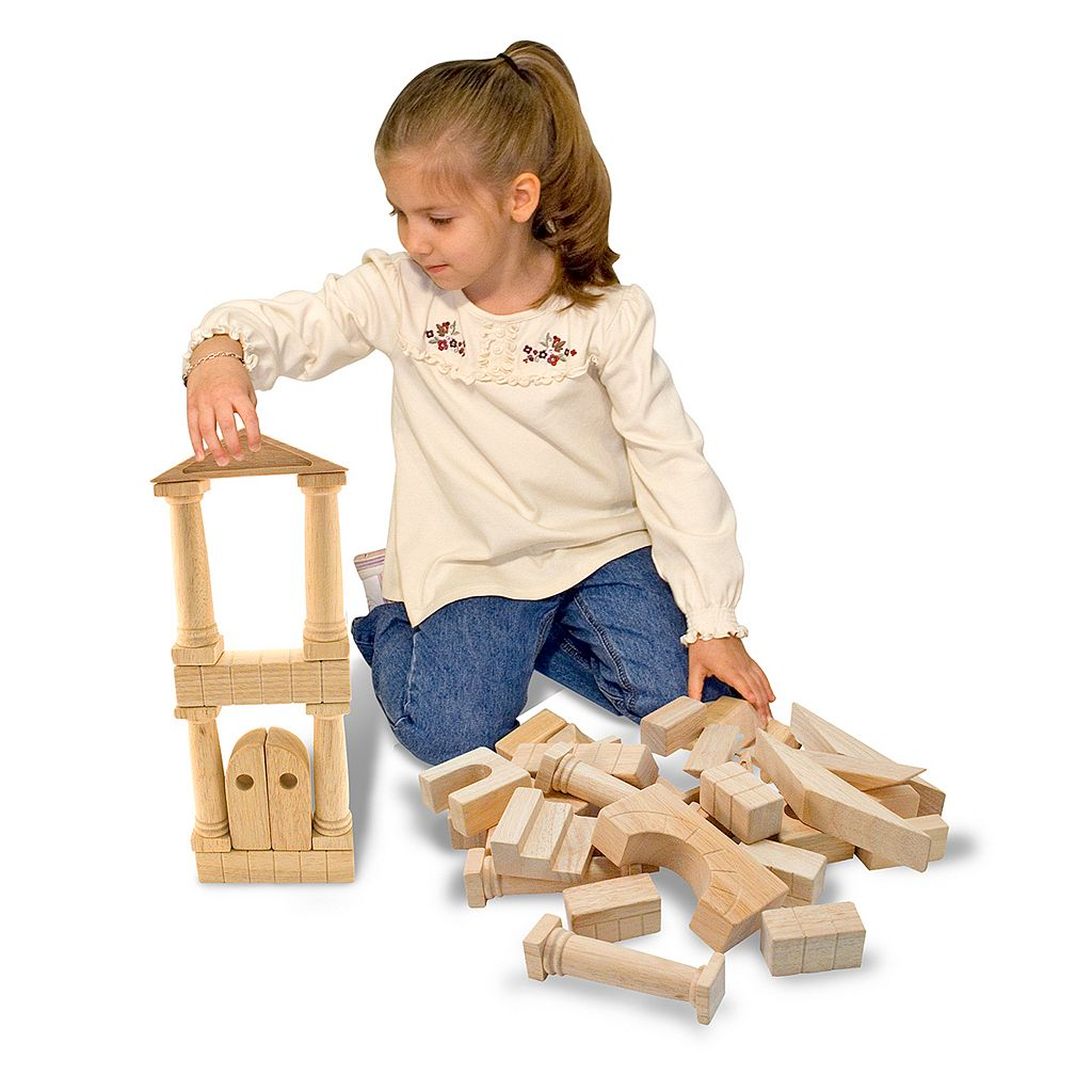 Melissa and Doug Architectural Unit Block Set