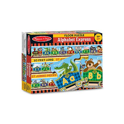 Melissa and Doug Alphabet Express Floor Puzzle