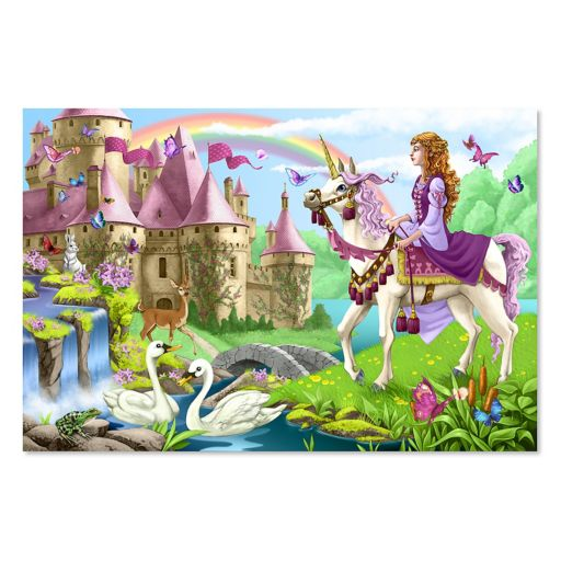 Melissa and Doug Fairytale Castle Floor Puzzle