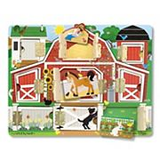 Melissa and Doug Magnetic Farm Hide and Seek
