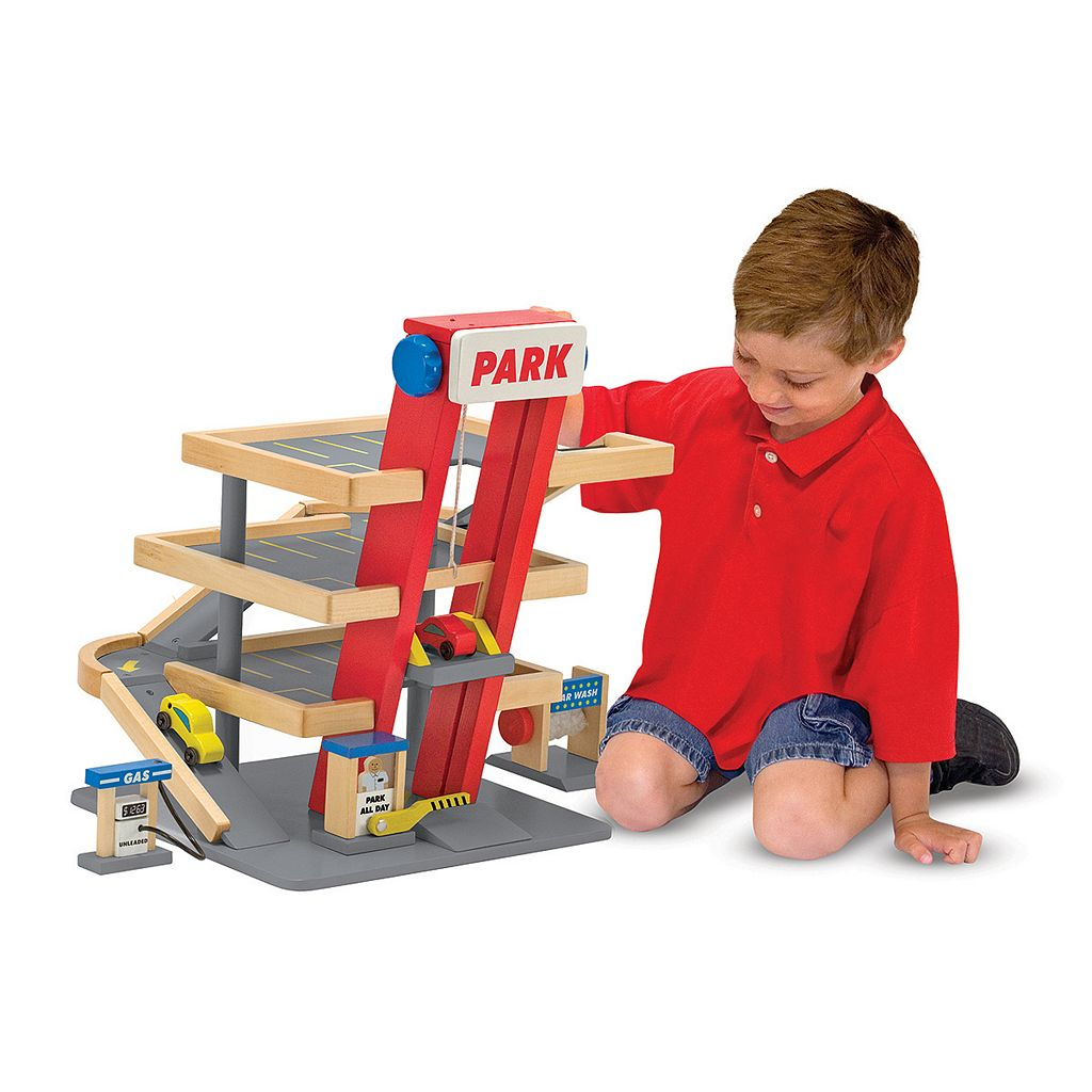 Melissa and Doug Parking Garage Playset