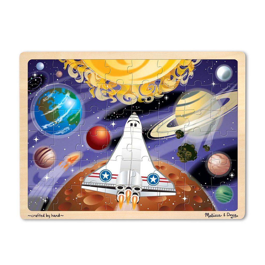 Melissa and Doug 48-pc. Space Voyage Puzzle