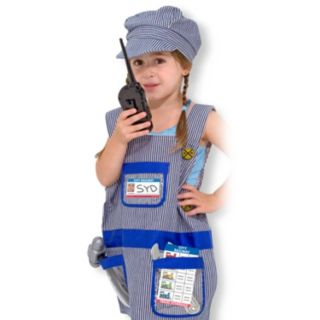 Melissa and Doug Train Engineer Role Play Costume Set