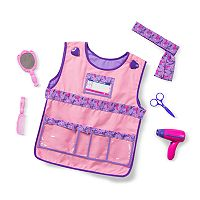 Melissa & Doug Hair Stylist Role Play Costume Set