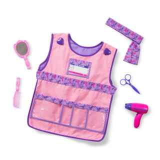 Melissa and Doug Hair Stylist Role Play Costume Set