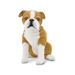Melissa and Doug English Bulldog Dog Giant Plush