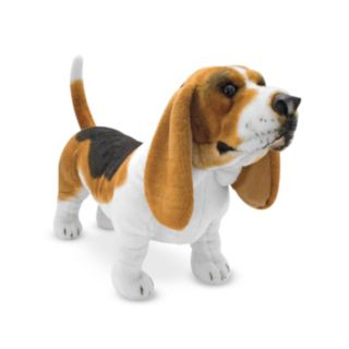 Melissa and Doug Basset Hound Dog Giant Plush