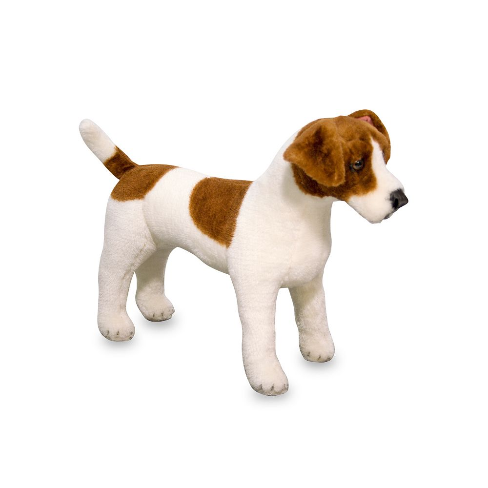 Melissa & Doug Jack Russell Terrier Dog Plush Toy